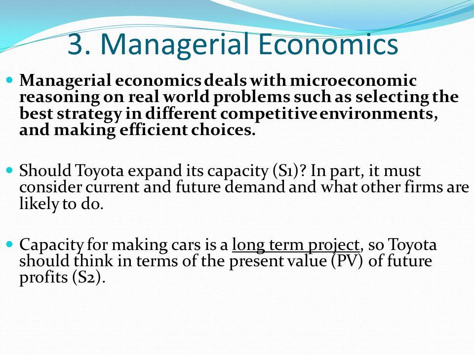 3. Managerial Economics