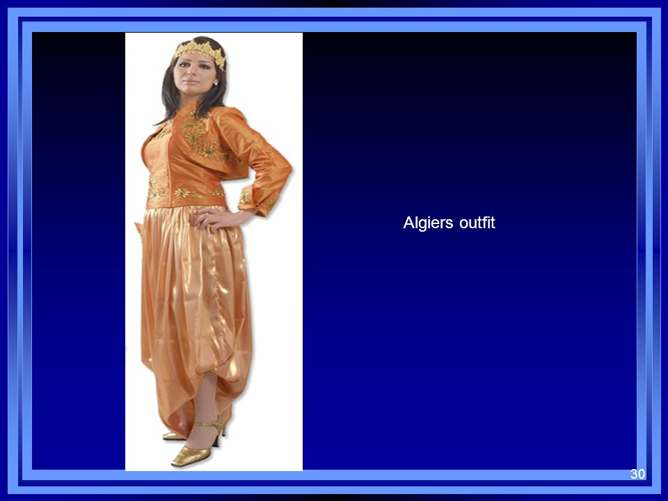 Algiers outfit