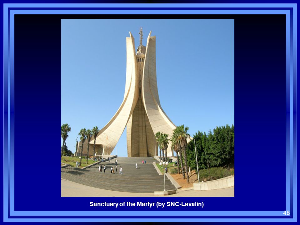 Sanctuary of the Martyr (by SNC-Lavalin)