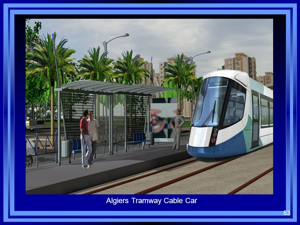 Algiers Tramway Cable Car