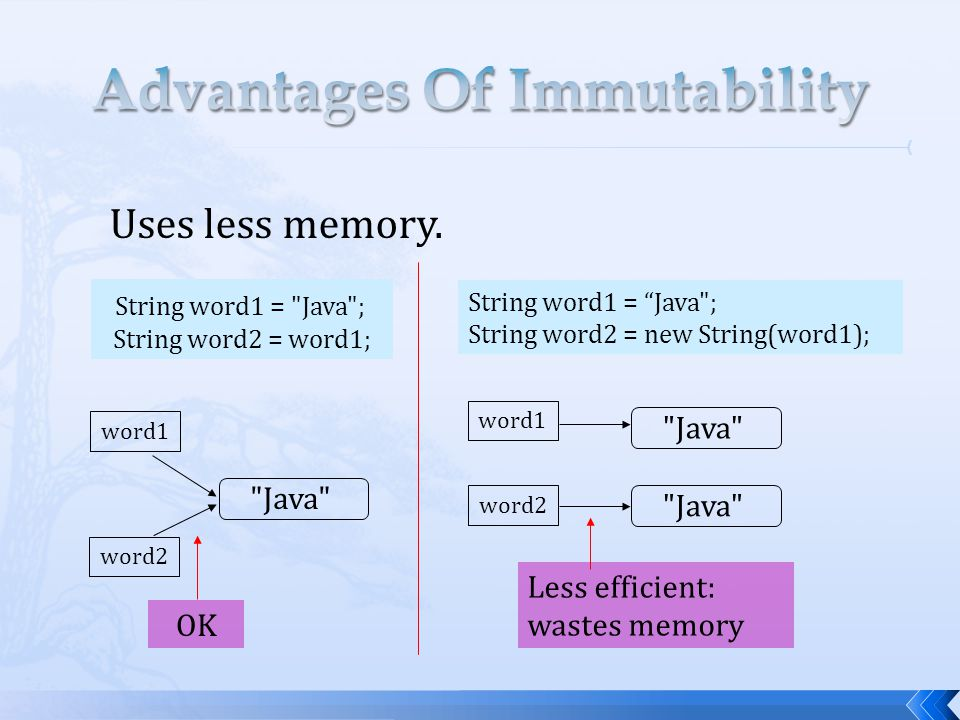 Advantages Of Immutability