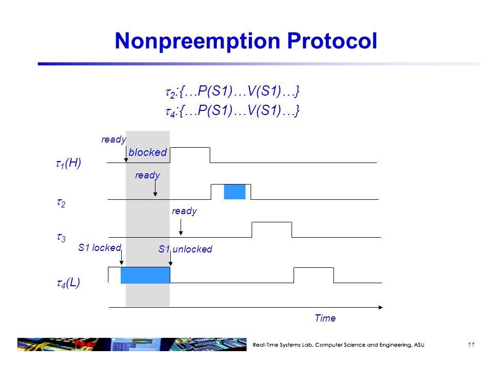 Nonpreemption Protocol
