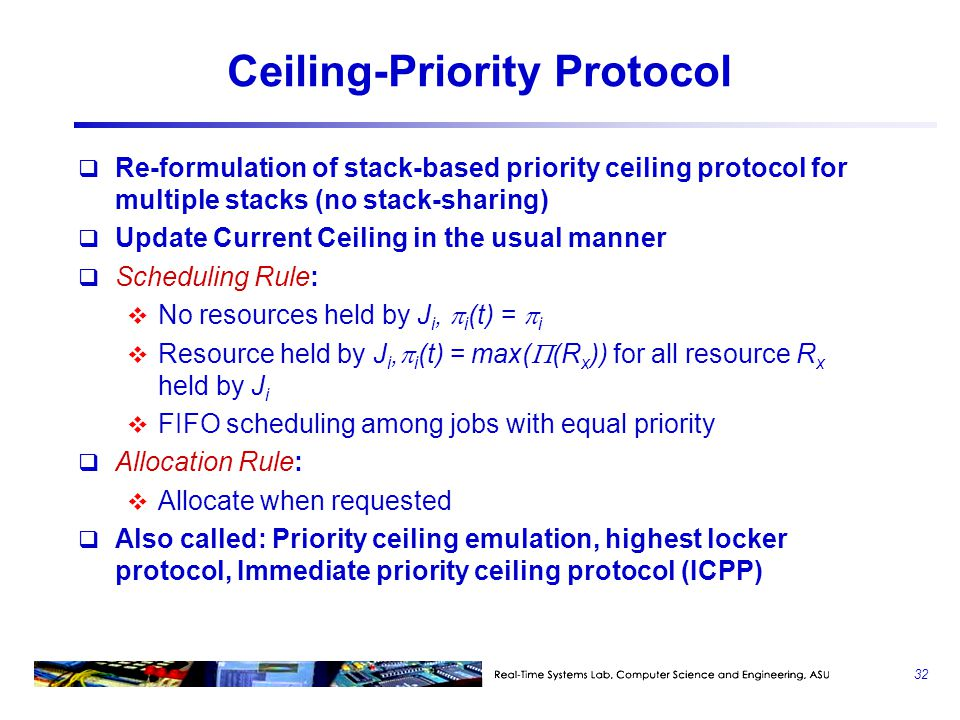 Ceiling-Priority Protocol