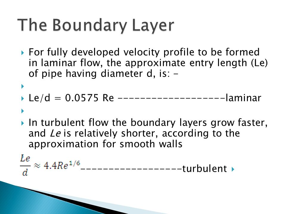 The Boundary Layer