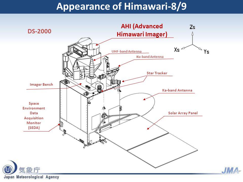 MSC Web Page for Himawari-8/9 Information