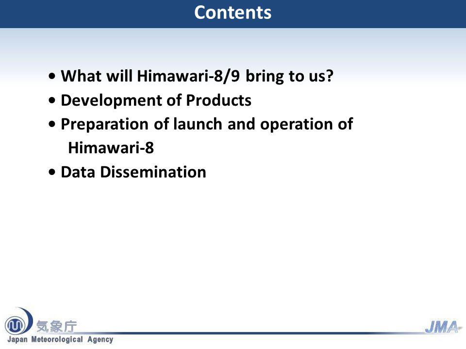 What will Himawari-8/9 bring to us