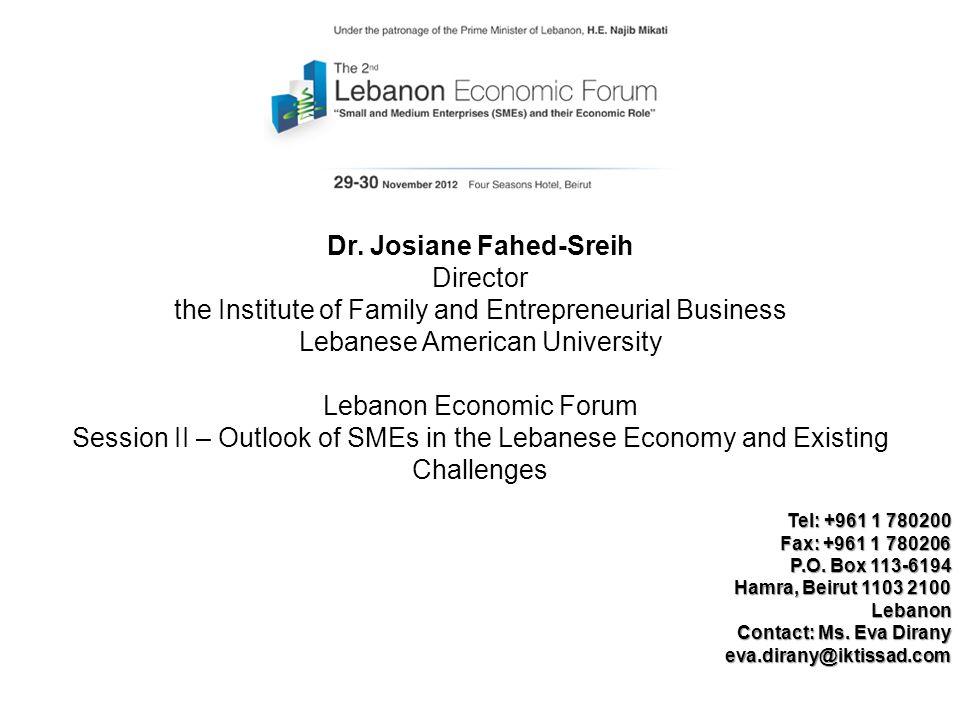 Dr. Josiane Fahed-Sreih