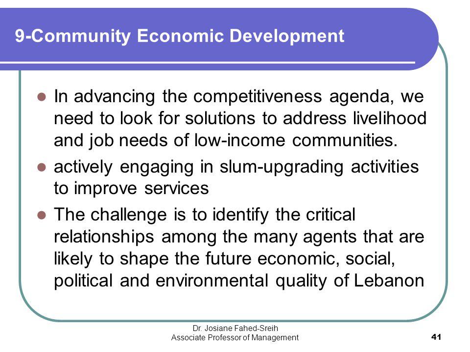 9-Community Economic Development