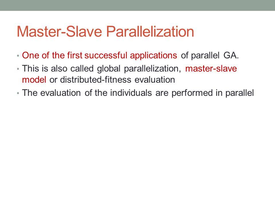 Master-Slave Parallelization