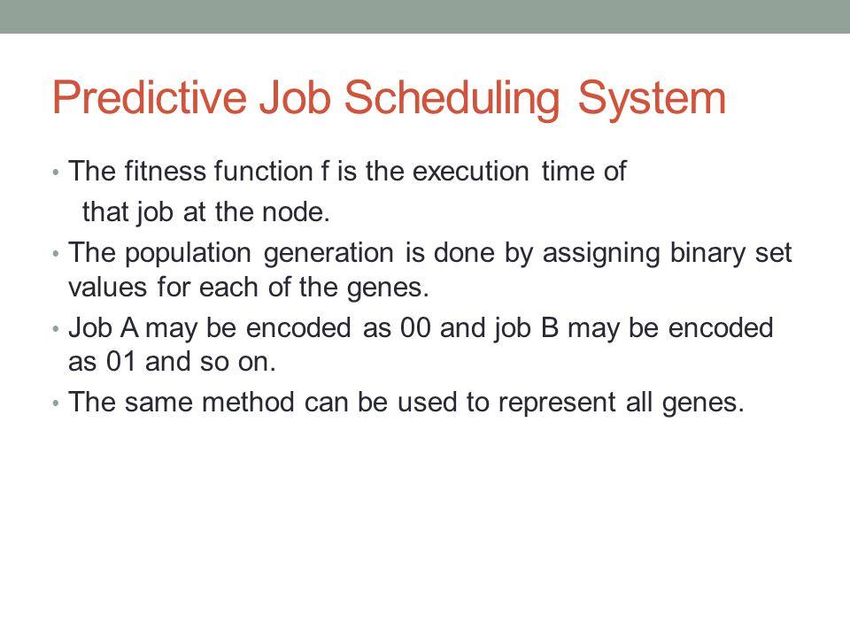 Predictive Job Scheduling System
