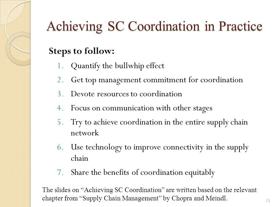 Achieving SC Coordination in Practice