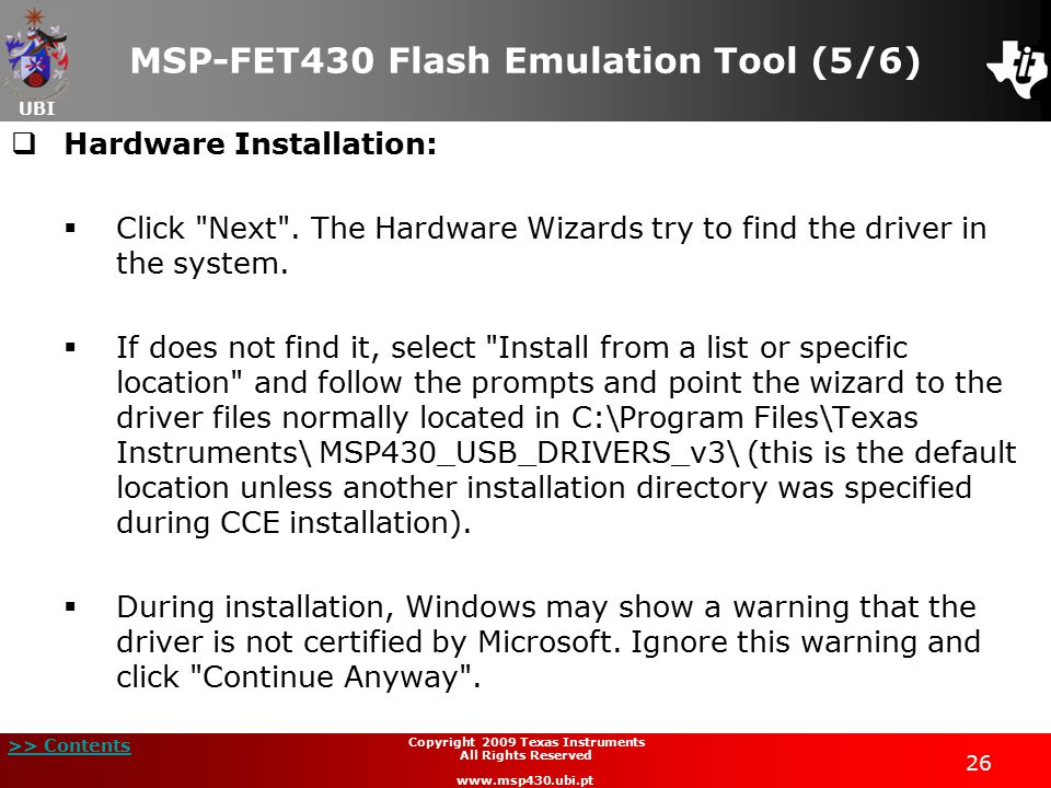 MSP-FET430 Flash Emulation Tool (5/6)