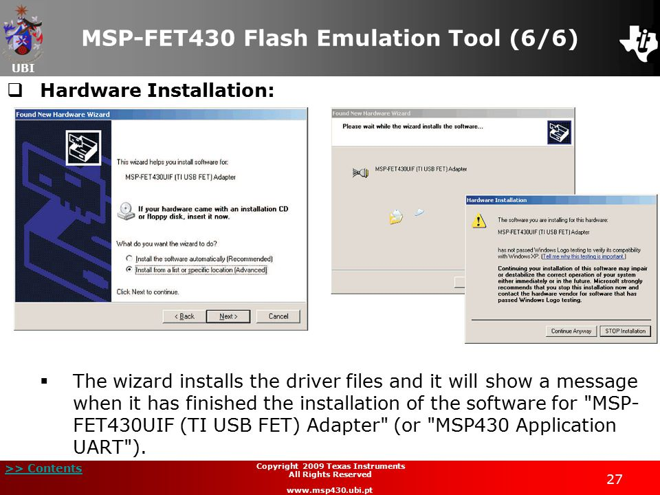 MSP-FET430 Flash Emulation Tool (6/6)