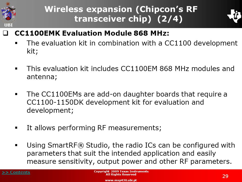 Wireless expansion (Chipcon's RF transceiver chip) (2/4)