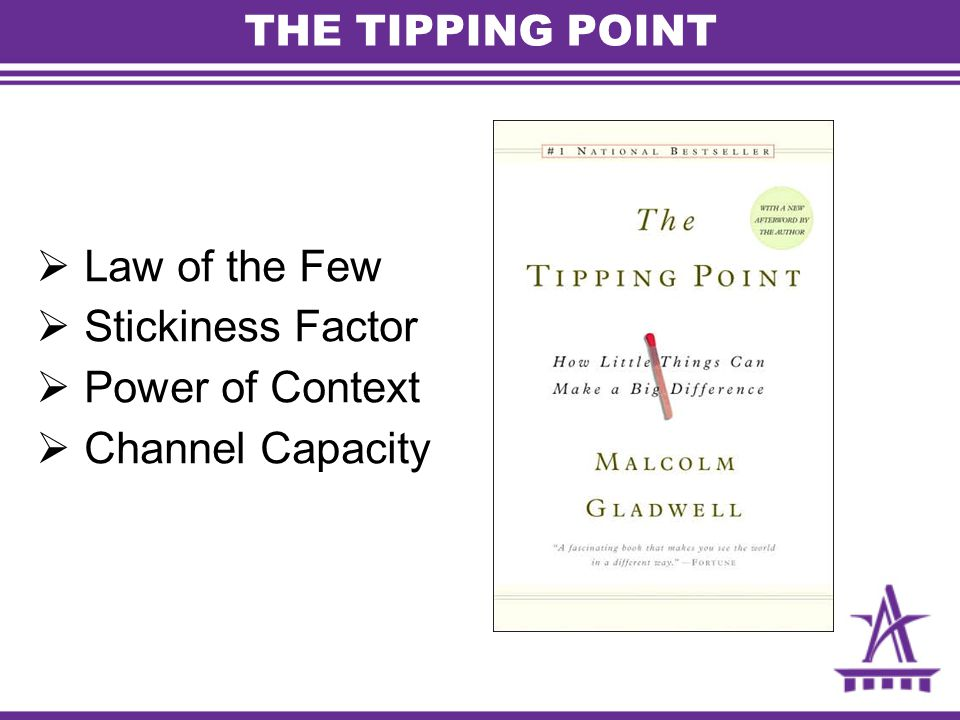 Law of the Few Stickiness Factor Power of Context Channel Capacity