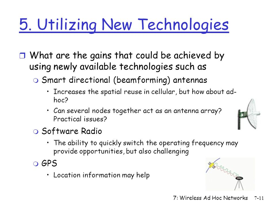 5. Utilizing New Technologies