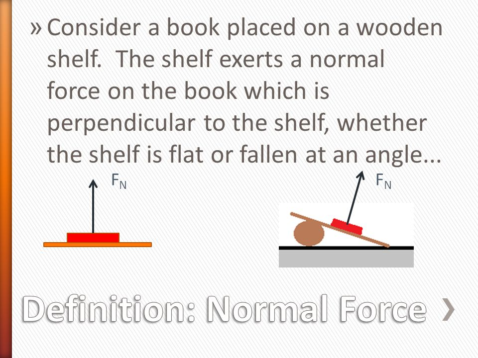 Definition: Normal Force