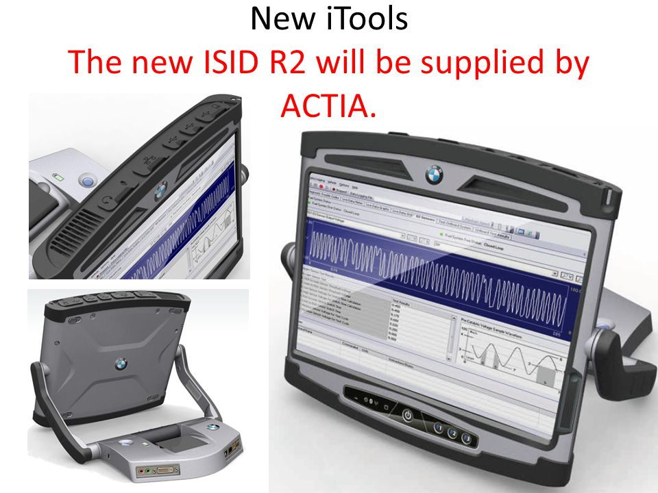 New iTools The new ISID R2 will be supplied by ACTIA.