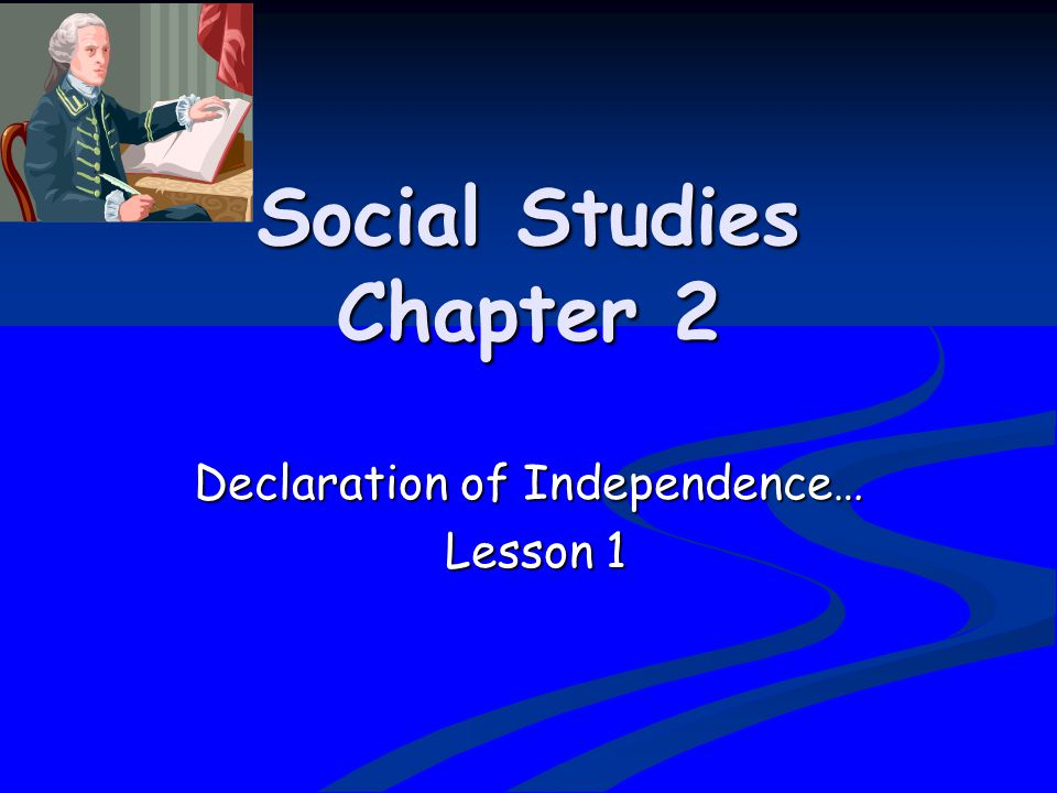 Social Studies Chapter 2