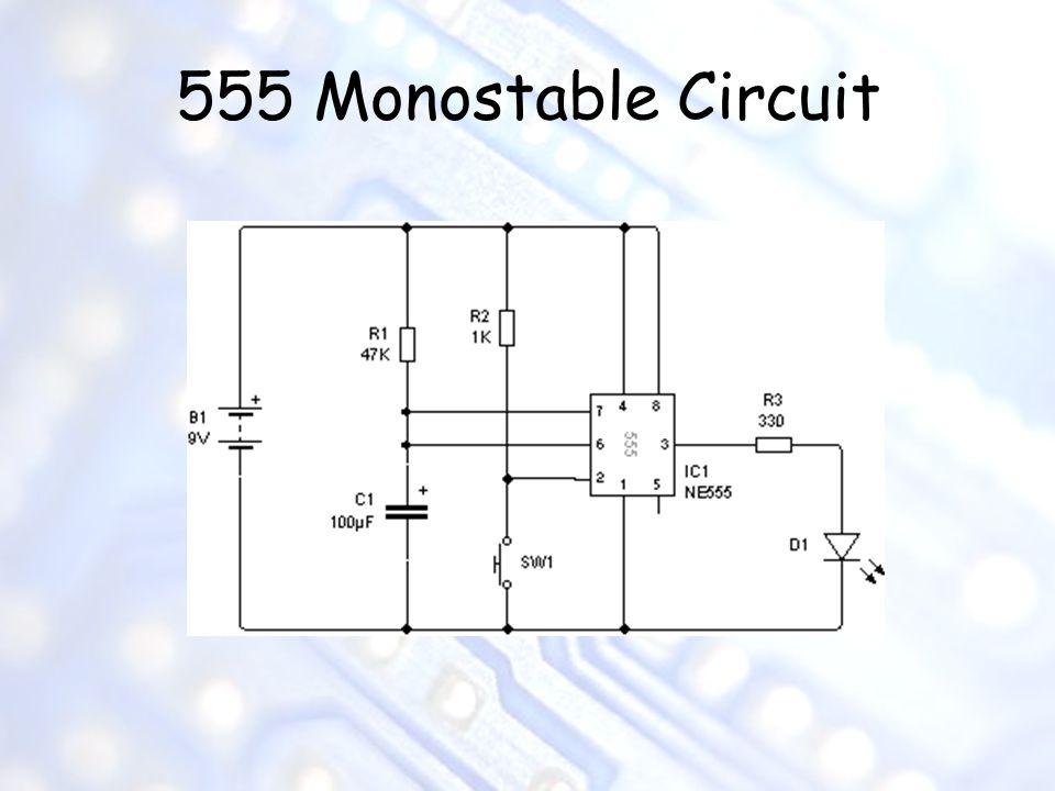 555 Monostable Circuit