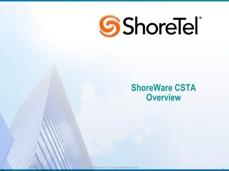 ShoreWare CSTA Overview