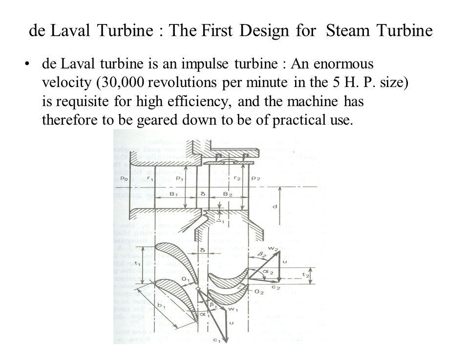 de Laval Turbine : The First Design for Steam Turbine