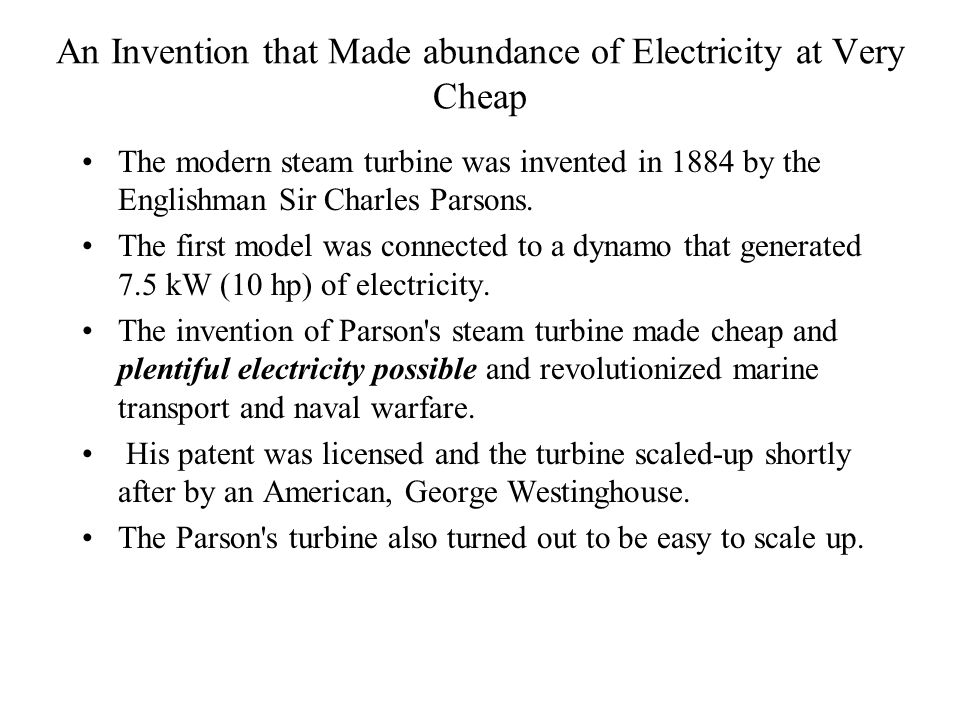 An Invention that Made abundance of Electricity at Very Cheap