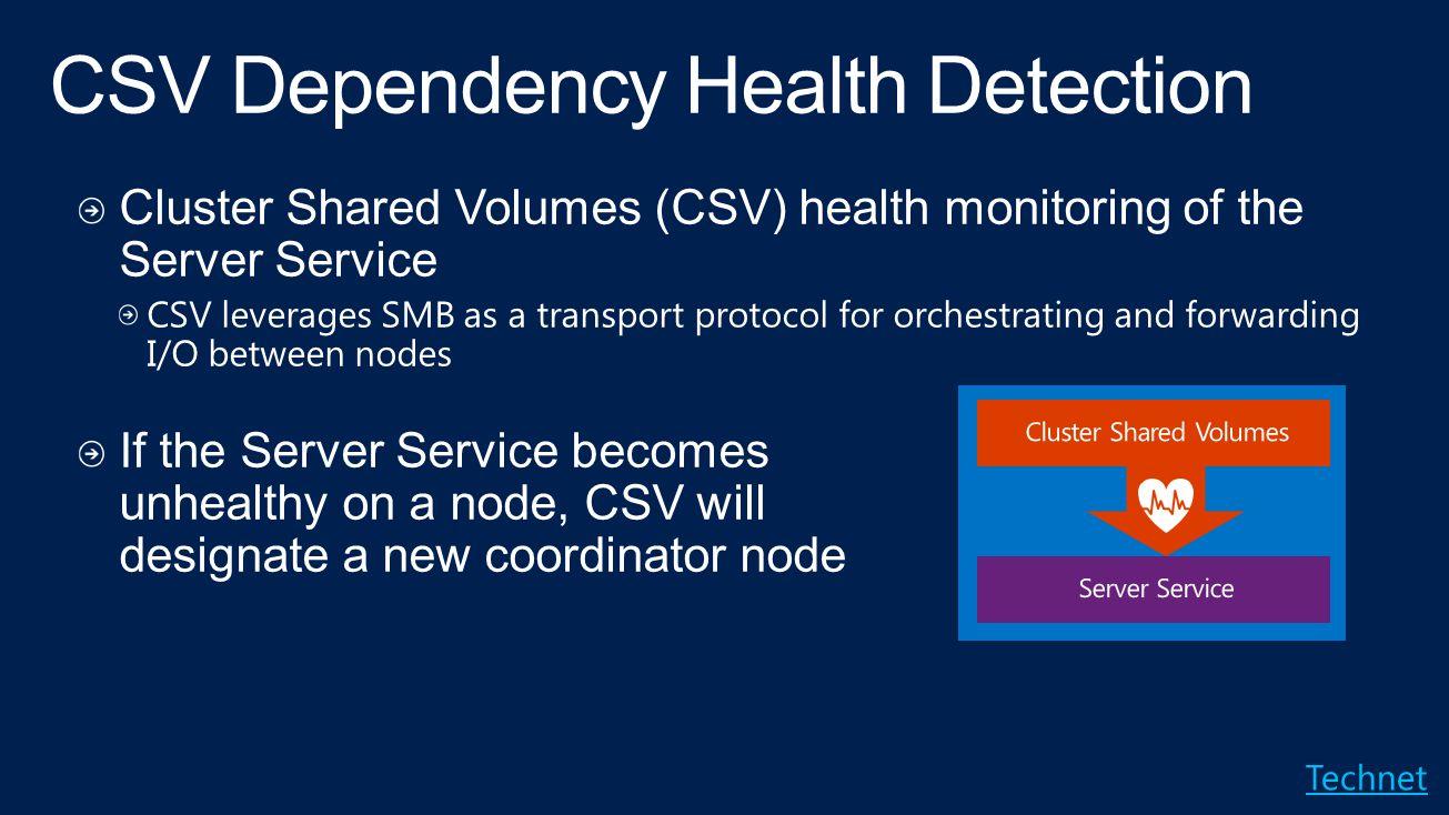 CSV Dependency Health Detection