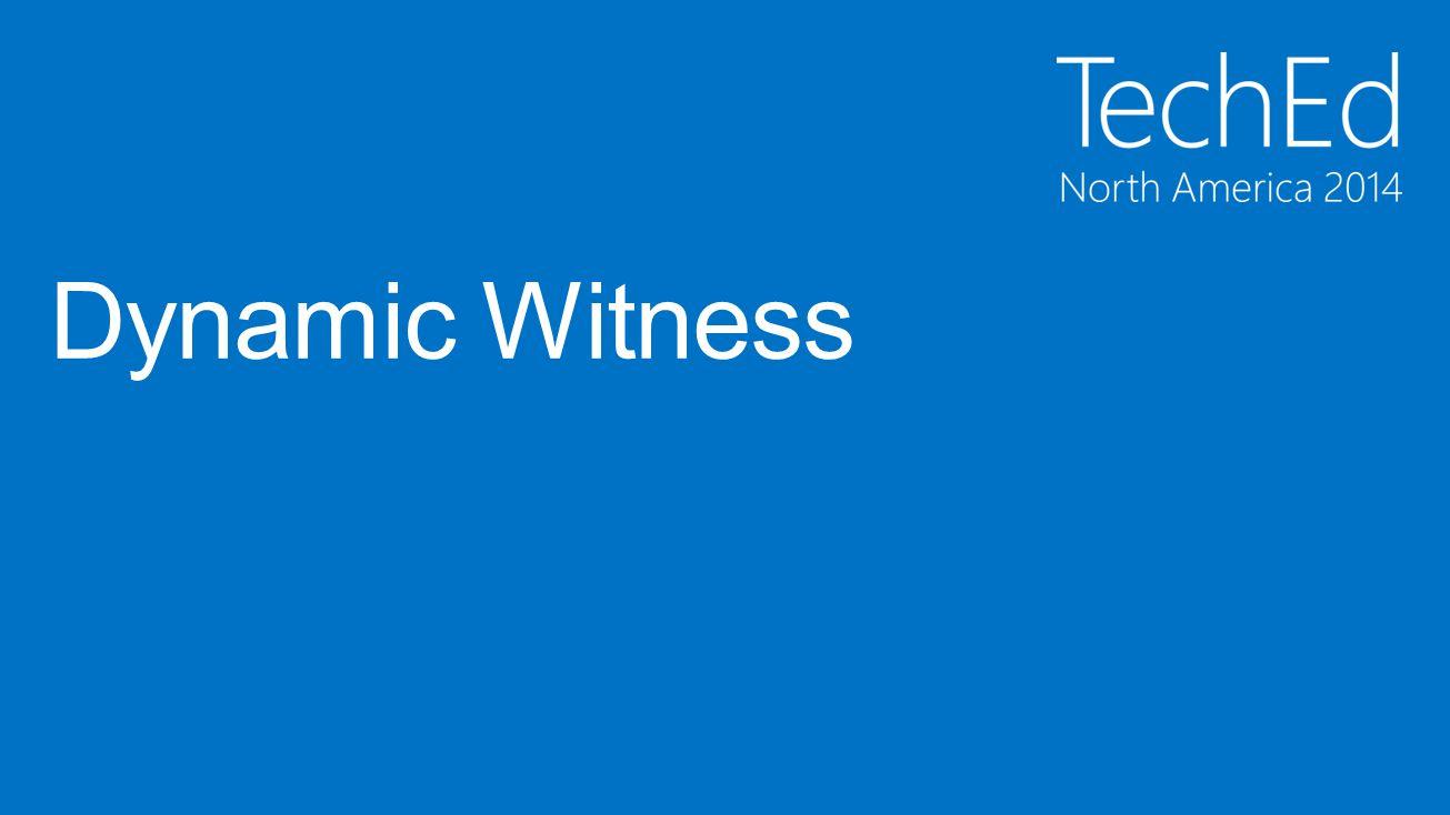 Dynamic Witness