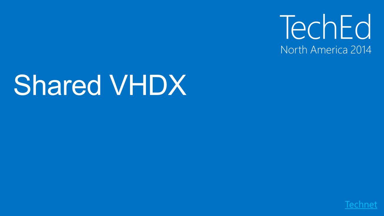 Shared VHDX Technet