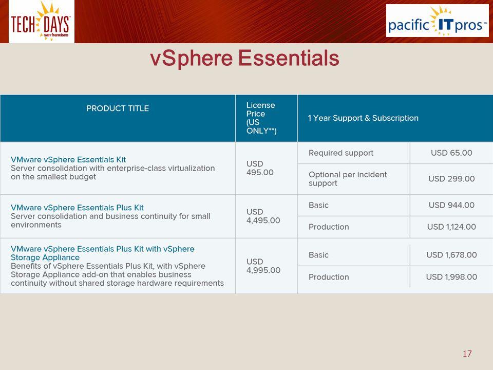 vSphere Essentials