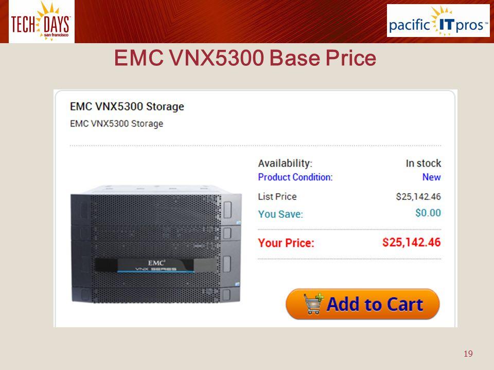 EMC VNX5300 Base Price