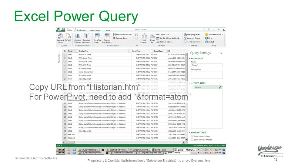 Excel Power Query Copy URL from Historian.htm