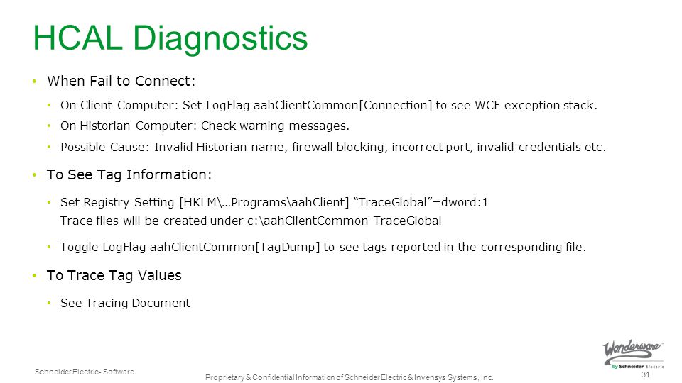 HCAL Diagnostics When Fail to Connect: To See Tag Information: