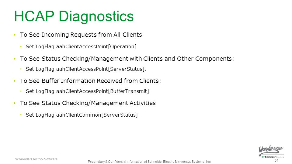 HCAP Diagnostics To See Incoming Requests from All Clients