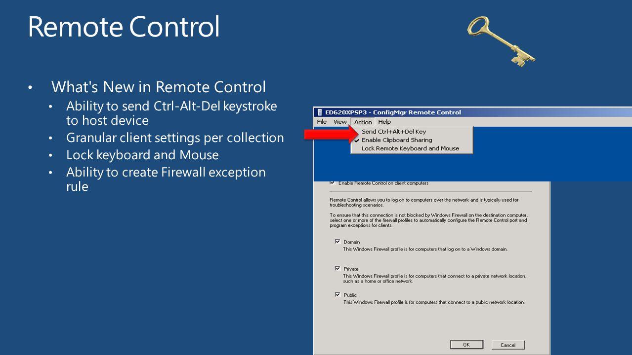 Remote Control What s New in Remote Control