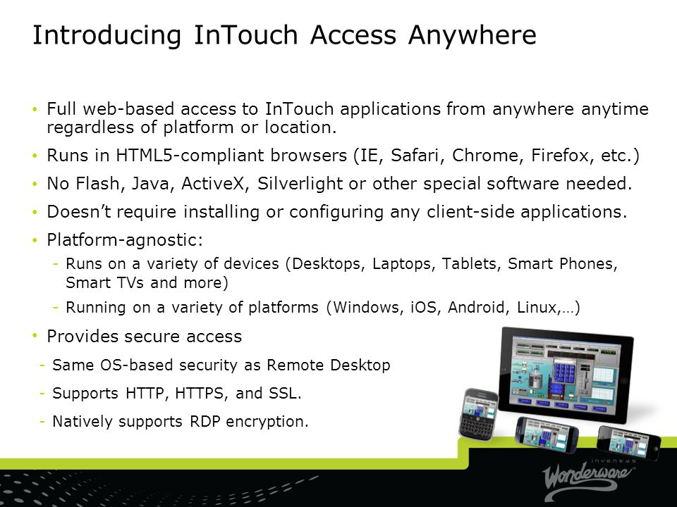 Introducing InTouch Access Anywhere