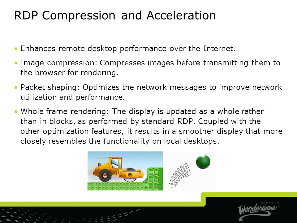RDP Compression and Acceleration
