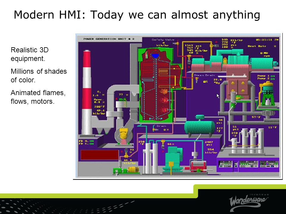 Modern HMI: Today we can almost anything
