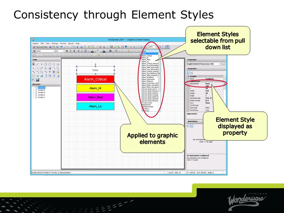 Consistency through Element Styles
