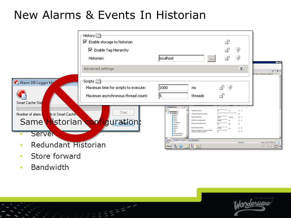 New Alarms & Events In Historian