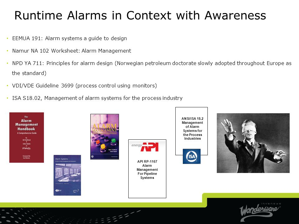 Runtime Alarms in Context with Awareness