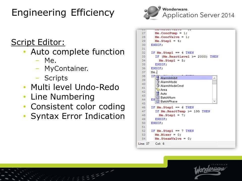 Engineering Efficiency