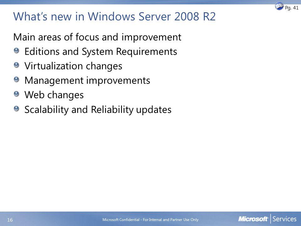 Windows Server 2008 R2 Editions