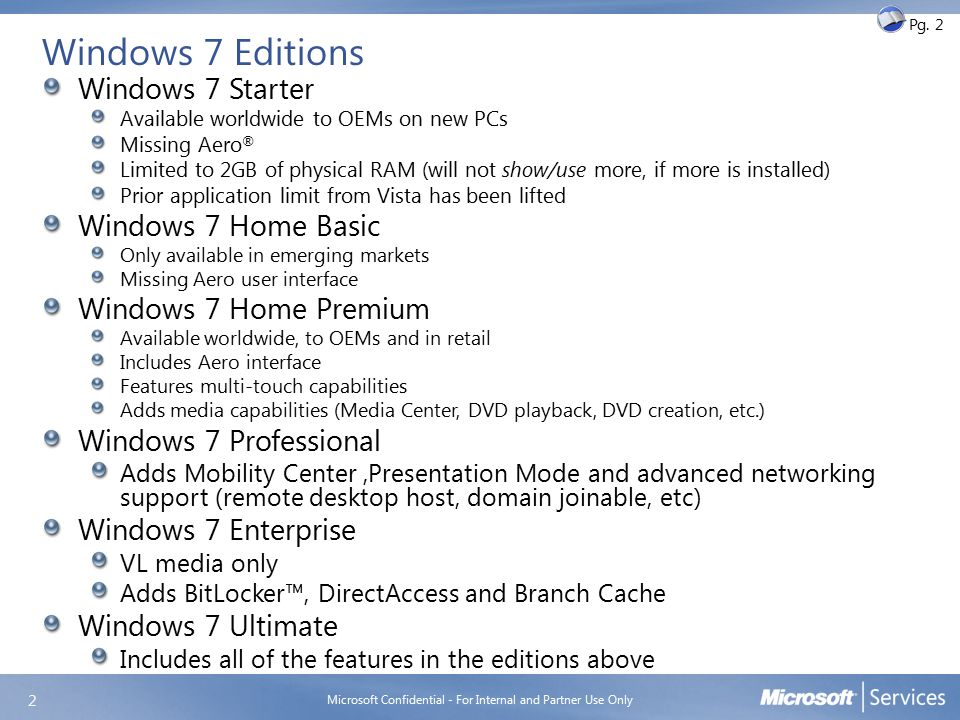 Windows 7 client system requirements