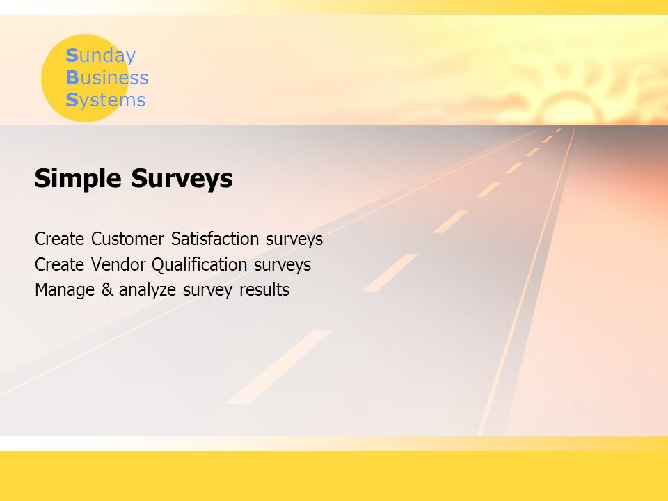 Simple Surveys Create Customer Satisfaction surveys