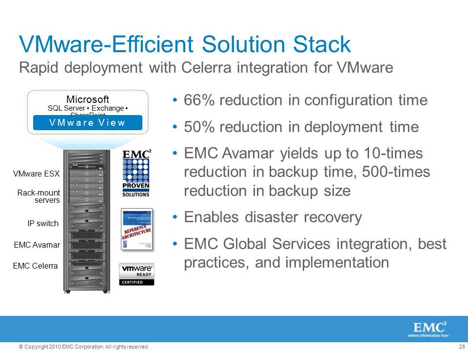 VMware-Efficient Solution Stack