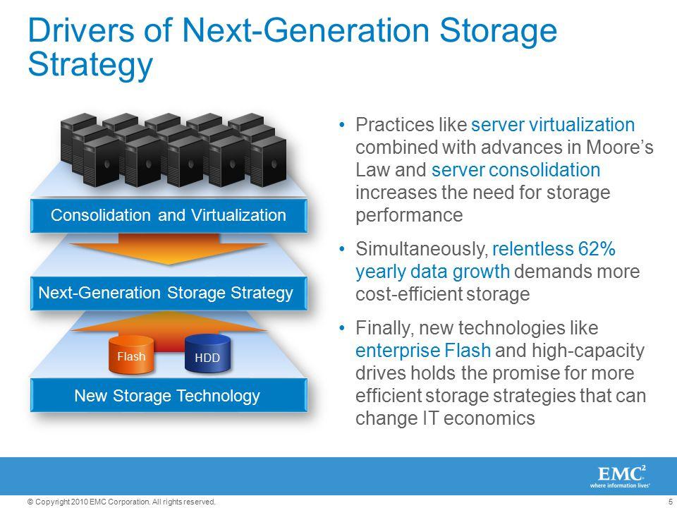 Drivers of Next-Generation Storage Strategy