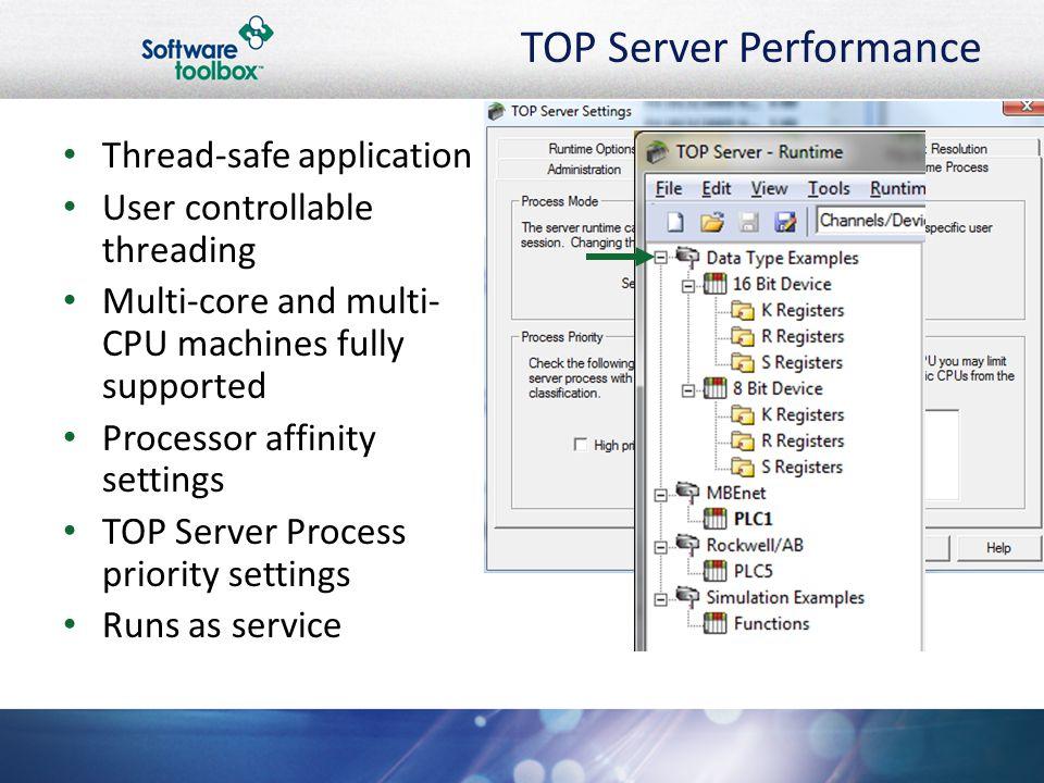 TOP Server Performance