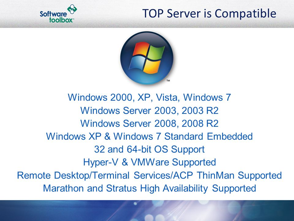 TOP Server is Compatible